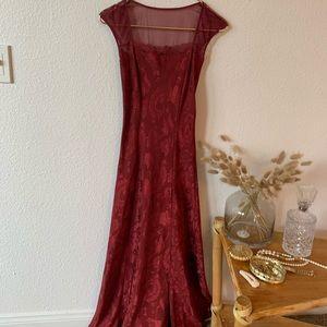 Vintage Victoria Secret red night gown